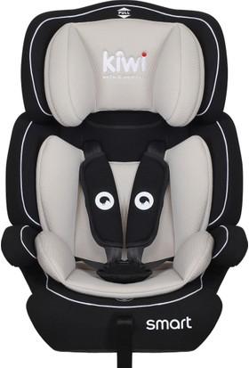 Kiwi Safe & Comfort Smart 9 - 36 kg Oto Koltuğu Siyah GriF10