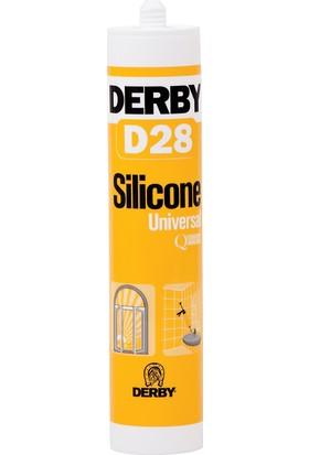 Derby D28 Genel Amaçlı Silikon Şeffaf 280g