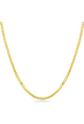 Gelin Pırlanta 14 Ayar Altın Zincir Kolye Gln100252