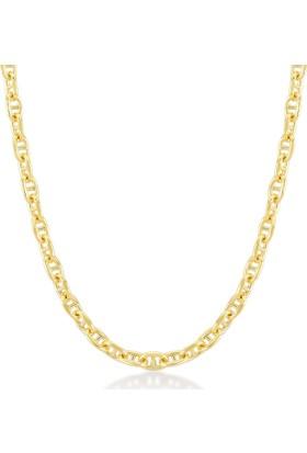 Gelin Pırlanta 14 Ayar Altın Zincir Kolye Gln100260