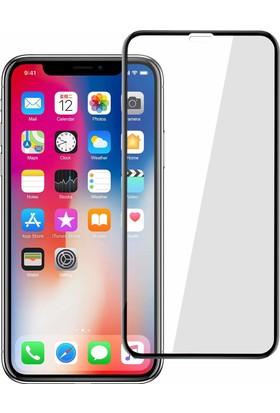Case 4U Apple iPhone X Tam Kapatan Kavisli Ekran Koruyucu