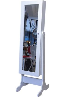 Allmode 3652 Takı Dolabi Beyaz