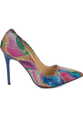 Fox Shoes Multi Kadın Topuklu Ayakkabı 8922151907