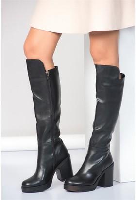 Fox Shoes Siyah Kadın Çizme A476276009