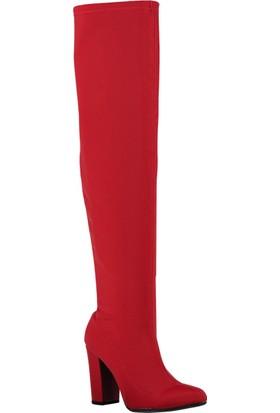 Fox Shoes Kırmızı Kadın Çizme A842070804