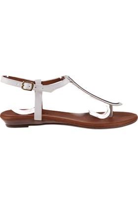 Fox Shoes Beyaz Kadın Sandalet B548394709