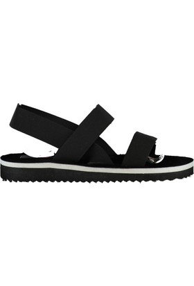 Fox Shoes Siyah Kadın Sandalet B551156004