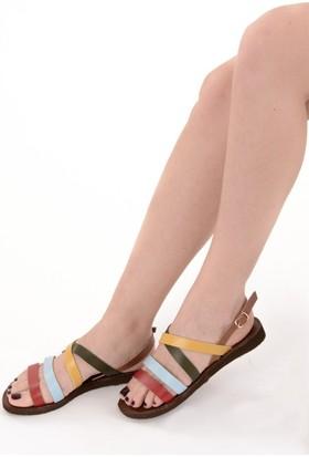 Fox Shoes Multi Kadın Sandalet B713010909