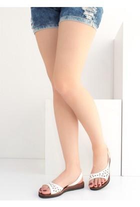 Fox Shoes Beyaz Kadın Sandalet B713691109