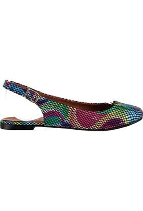 Fox Shoes Multi Kadın Babet B726105207