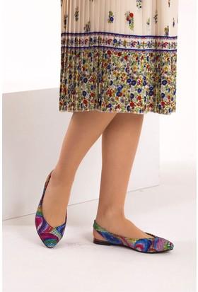 Fox Shoes Multi Kadın Babet B726773707