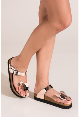 Fox Shoes Bakır Kadın Terlik B777764034