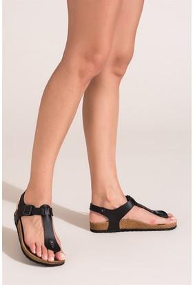 Fox Shoes Siyah Kadın Sandalet B777805009
