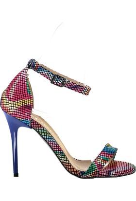 Fox Shoes Multi Kadın Topuklu Ayakkabı B922112607