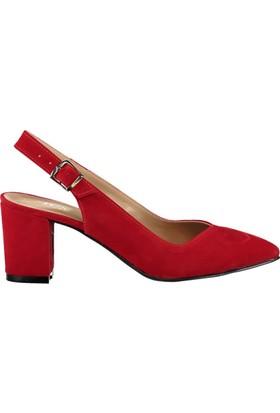 Fox Shoes Kırmızı Kadın Topuklu Ayakkabı B922922002