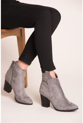 Fox Shoes Gri Kadın Bot C340800202