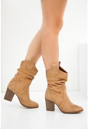 Fox Shoes Camel Kadın Bot C340800702