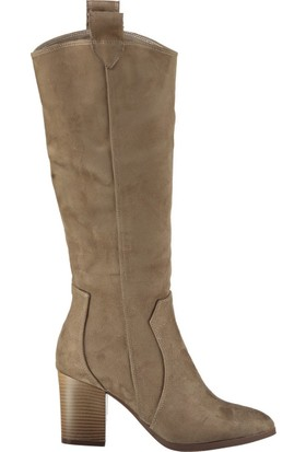 Fox Shoes Vizon Kadın Çizme C340807002