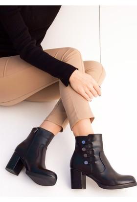 Fox Shoes Siyah Kadın Bot C404060109