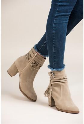 Fox Shoes Vizon Kadın Bot C412006002