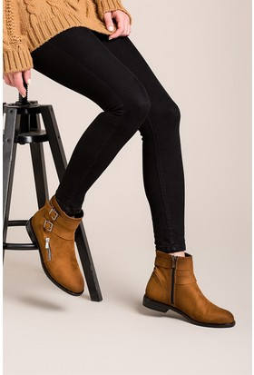 Fox Shoes Taba Kadın Bot C414171302