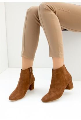 Fox Shoes Taba Kadın Bot C422040402