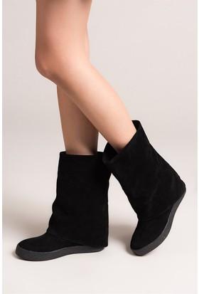 Fox Shoes Siyah Kadın Çizme C437454602