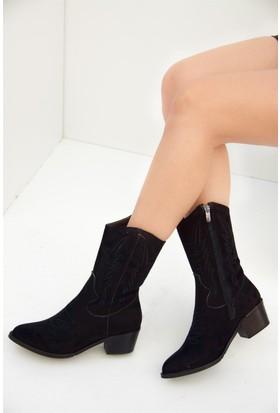 Fox Shoes Siyah Kadın Bot C462801102