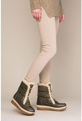 Fox Shoes Haki Kadın Bot C476020304
