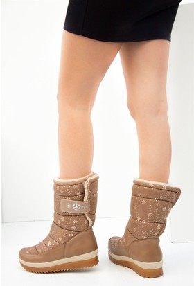 Fox Shoes Camel Kadın Bot C476023004
