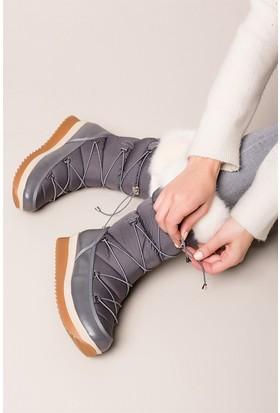 Fox Shoes Gri Kadın Bot C476024604