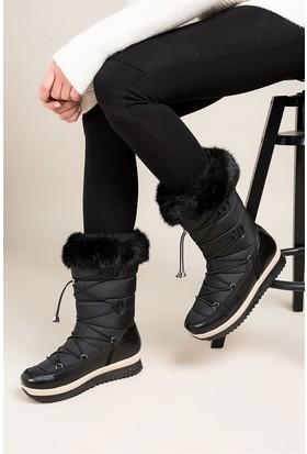 Fox Shoes Siyah Kadın Bot C476024604