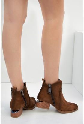 Fox Shoes Taba Kadın Bot C518501002