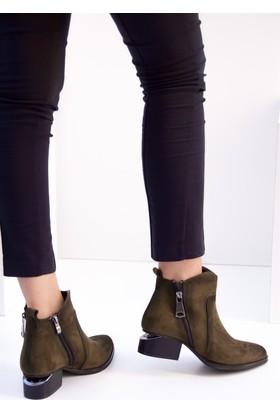 Fox Shoes Yeşil Kadın Bot C518501002