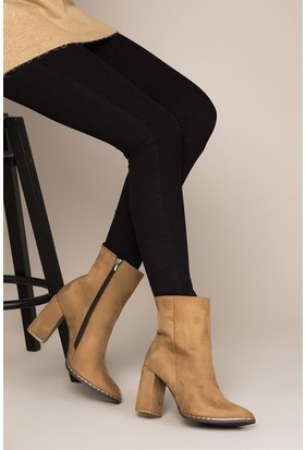 Fox Shoes Camel Kadın Bot C654088202