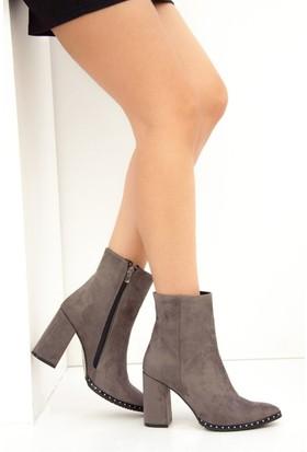 Fox Shoes Gri Kadın Bot C654088202