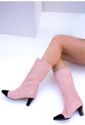 Fox Shoes Pudra Kadın Bot C654088702