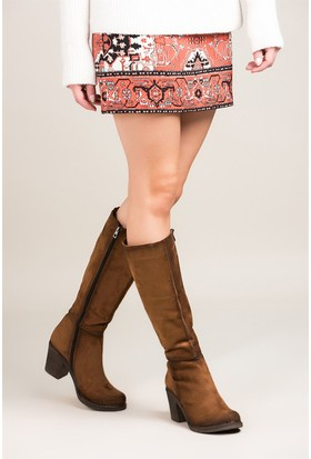Fox Shoes Taba Kadın Çizme C674250302
