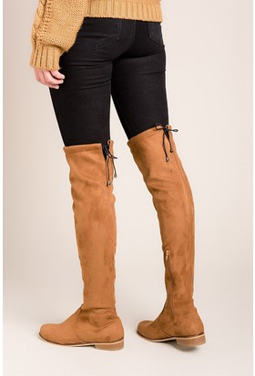 Fox Shoes Taba Kadın Çizme C726264002