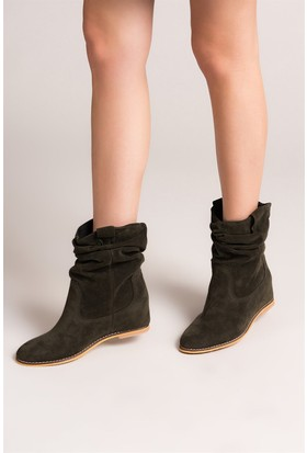 Fox Shoes Haki Kadın Bot C735041202