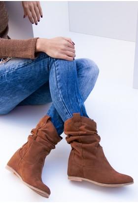 Fox Shoes Taba Kadın Bot C735041202