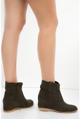 Fox Shoes Haki Kadın Bot C735381902