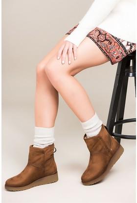 Fox Shoes Taba Kadın Bot C848020002