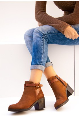 Fox Shoes Taba Kadın Bot C848040302