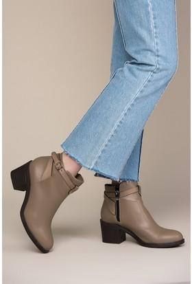 Fox Shoes Vizon Kadın Bot C848040309
