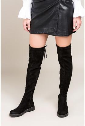 Fox Shoes Siyah Kadın Çizme C860200102
