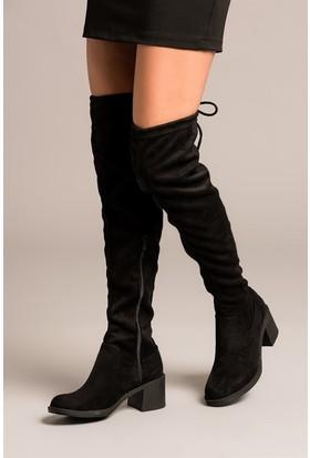 Fox Shoes Siyah Kadın Çizme C860300102