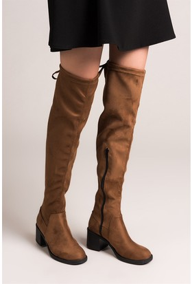Fox Shoes Taba Kadın Çizme C860300102