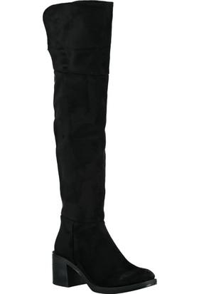 Fox Shoes Siyah Kadın Çizme C860300202