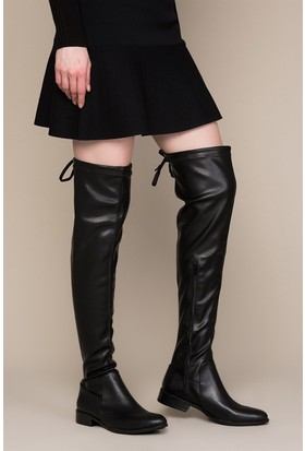 Fox Shoes Siyah Kadın Çizme C860600109